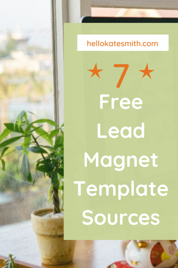 7 sources for lead magnet templates