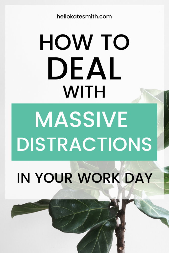 Use a minimum viable word day to deal with massive distractions