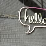 hello open sign