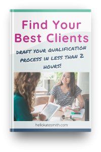 Find Your Best Clients workbook