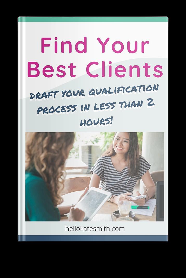 Find Your Best Clients workbook