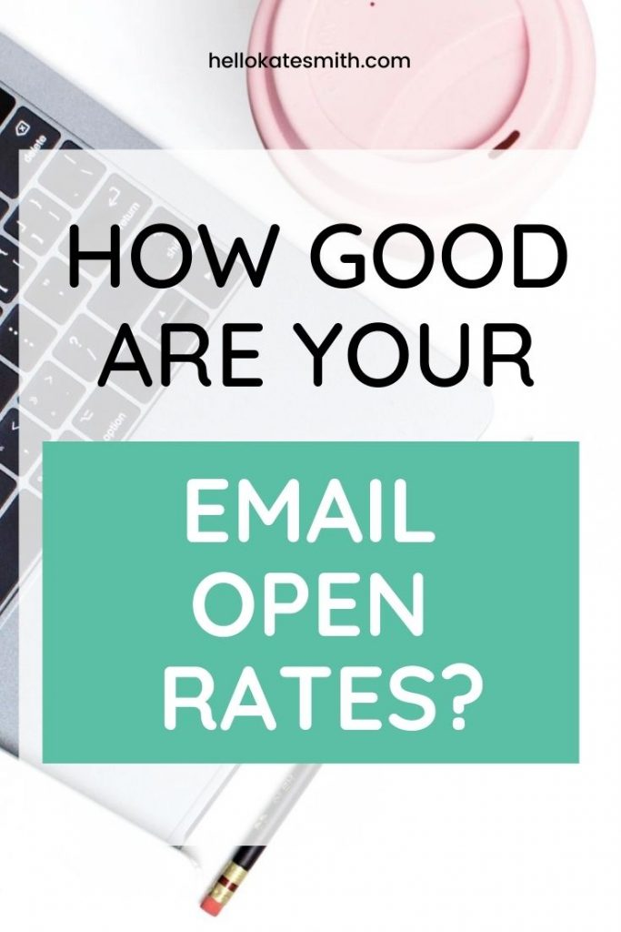 How good are your email open rates?