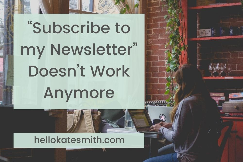 """""""Subscribe to my newsletter"""" doesn't work"""