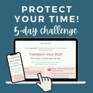 5-day challenge to protect your time